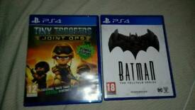 2 PS4 GAMES(LIKE NEW)FOR £20