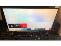 "Samsung UE49NU7170 49"" 4K Ultra HD Smart TV Wi-Fi Black LED TV - LED TVs 49"""