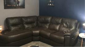 Corner settee /recliner seat. Good condition