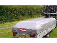 Trailer tent in very good condition. easy to pitch and pack away. great family holiday tent.