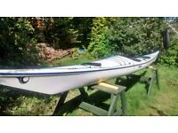 P&H Quest, 17 foot 6 inch sea kayak