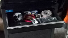 TOOL SET IN CABINET