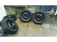 4 steels with wheels bargain £60