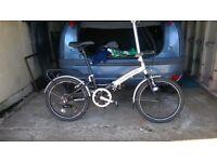 APOLLO FOLDING BICYCLE ALLOY FRAME UNISEX EXCELLENT