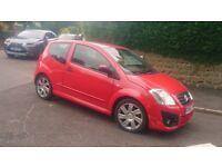 Citreon VTS 1.6 16V (110BHP model) HPI checked, cheap tax, in excellent condition one scratch only