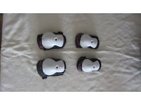 Girls knee and elbow pads from Decathalon. They are as new. Would suit girl from approximate age 8+