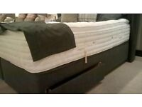 Brand New in Packet 180cm Super King Size Bed Divan Base Only plus matching accessories