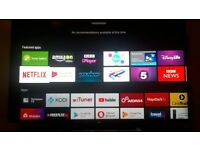 Sony Bravia KD50SD8005 50 inch Curved Android 4K HDR Ultra HD Smart TV with Youview