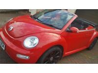Vw beetle convertible 1.6 petrol