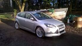 Ford Focus 1.6 Ecoboost,Zetec S,182ps,mk3,scti, 2012,Silver,not ST,new clutch