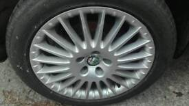 """Alfa Romeo alloy wheels 17"""""""