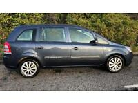 DIESEL VAUXHALL ZAFIRA 7 SEATER 1.9L CDTI (2009) year mot 5 door family car