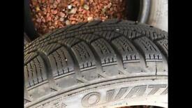 175/65 R14 winter tyres. Honda jazz etc