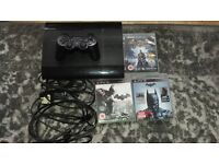 playstation 3 12 gb and batman arkham trilogy