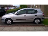 Nissan Almera 1.5 ,,, Long MOT and low miles