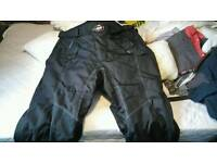 Motorbike textile trousers