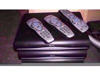 10 x sky box black HD