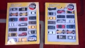 large truck and car collection