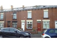 Two bed terrace for rent , residential area , Heaton area , close to all amenities and town centre