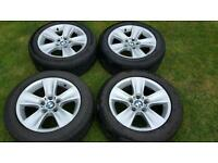 BMW genuin alloys wheels x 4