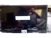 """Toshiba 40"""" LED 1080p TV with built in DVD USB etc Free local delivery"""
