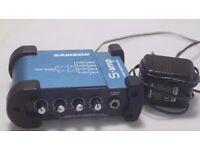 Samson S-amp - Mini Stereo 4-channel Headphone Amplifier