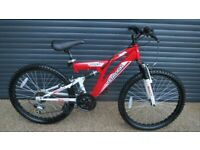 CHILDS TERRAIN BIKE IN IMACULATE ALMOST NEW CONDITION. (SUIT APPROX. AGE. 8 / 9+)