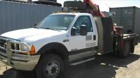 Used Ford picker truck