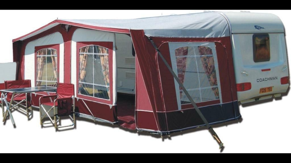 Pyramid Tuscany Awning In Burgundy Red