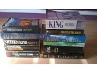 11 STEPHEN KING BOOKS FOR SALE