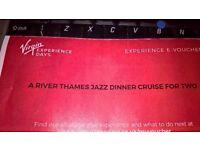 jazz dinner on thames for two