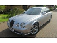 Jaguar S-Type 2.5 Sport V6 2004 Low Mileage. Rare Manual Model. MOT 0917