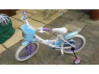 "Girls 16"" frozen bicycle"
