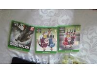 FIFA16 , 15 and watch dogs for sale