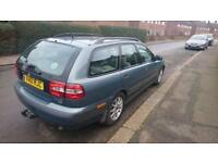 Volvo V40 Diesel estate. 2002 with private number plate