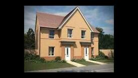 3 Bed Semi Barratt New build