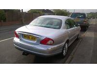 Jaguar X-Type 2.2SE Diesel 2006 New MOT to 13-08-18 Superb Condition in Silver Metallic