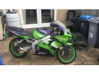 Kawasaki zx6r g, zx6r J breaking for parts, headlight, frame, calipers, Rearsets