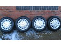 citreon dispatch wheels and tyres