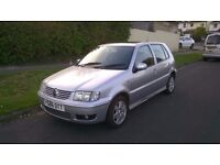 2001 VW Polo 1.4 TDI. MOT until April. 4 Door with 123k miles. 895 ono.