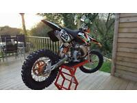 Ktm 50 sx 2008 big wheel