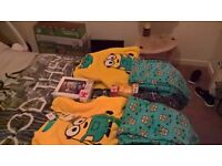 i have 2 sets of minion jammies
