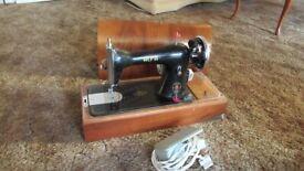 Alfa electric Antique Sewing Machine