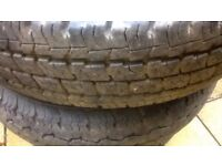Tyres Commercial 185 R14 C different Manufactures /Winter/Sommer with Rims LDV/Transit