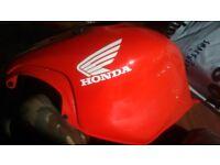 HONDA CBR600 FX FY CBR 600 1999 - 2000 RED FUEL / PETROL TANK