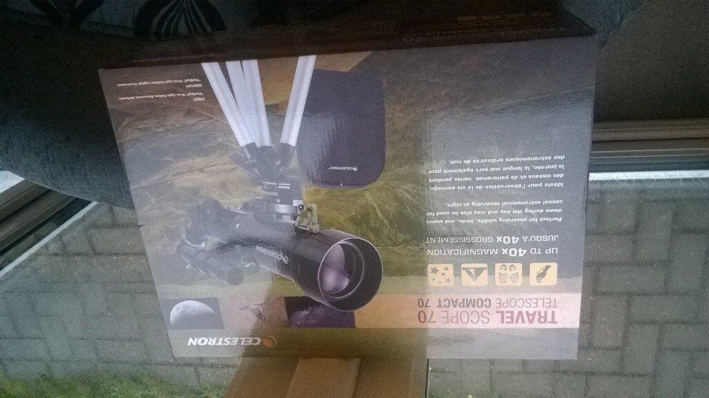 Telescope celestron travel scope in lincoln lincolnshire