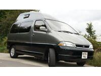 Wellhouse Toyota Granvia 2 berth campervan, automatic, diesel