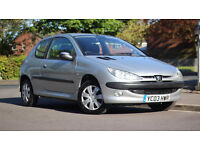 Peugeot 206 1.4 HDI Diesel 2003 Ł30 Tax road 10 Months M.O.T Timing kit done