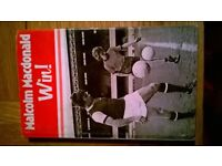Football book - Win! - by Malcolm Macdonald