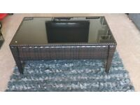 Rattan Coffee Table / Small table conservatory BRAND NEW